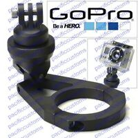 Gopro Hero 1, 2, Or 3 Hd Camera Billet Aluminum Clamp On Mount For 1.75 Tubing