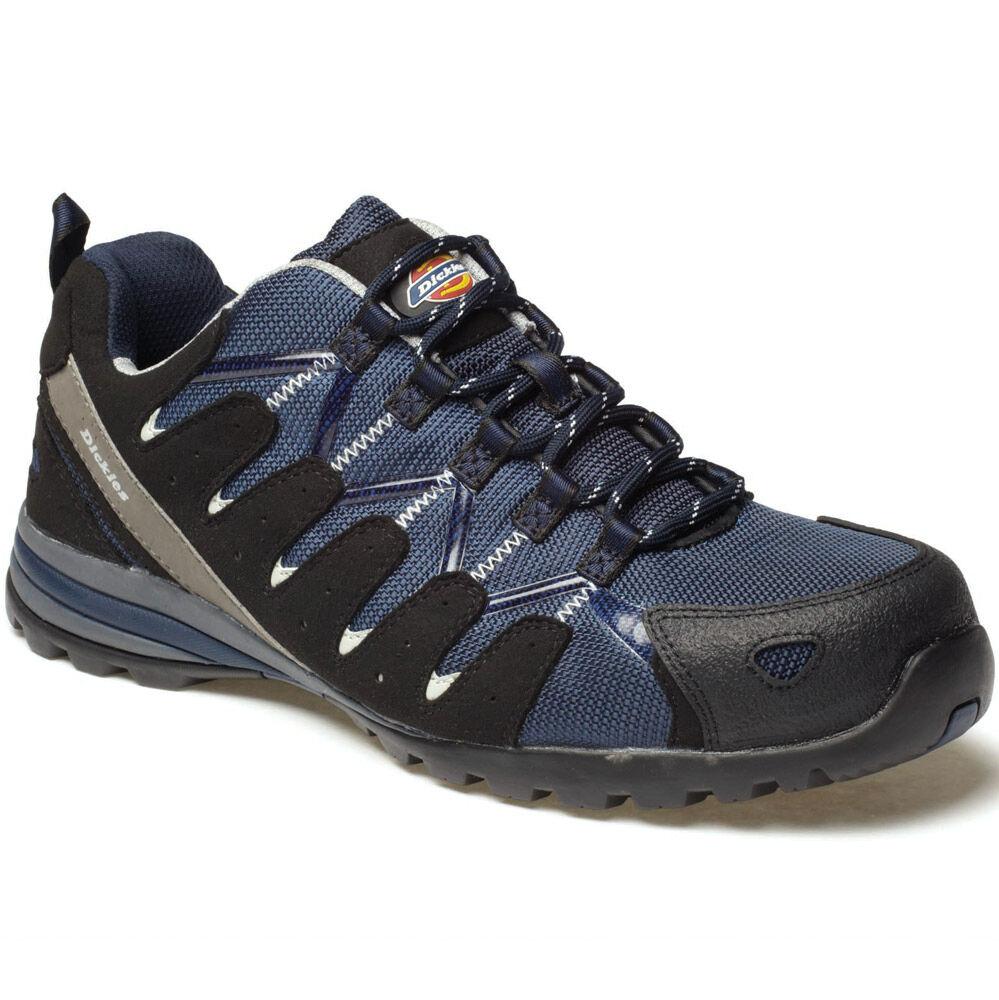 DICKIES TIBER SIZE NAVY SAFETY TRAINERS Schuhe SIZE TIBER UK 6 EU 40 FC23530 COMPOSITE d89d15