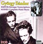 Bart¢k: Baroque Transcriptions (CD, Oct-2010, 2 Discs, Musical Concepts)