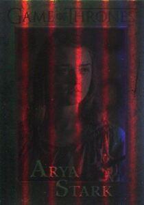 Game Of Thrones Season 6 Foil Base Card #44 Arya Stark