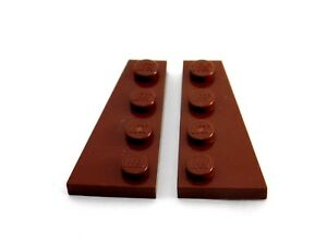 Lego-wedge plate 4x wing 4x2 right right brown//répugnant brown 41769 new