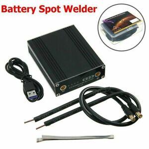DIY Spot Welder Mini Spot Welding Machine With Quick Release Pens & Battery