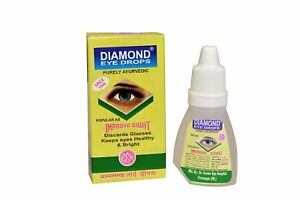 PACK-OF-12-Diamond-Herbal-Eye-Drops-For-Cataract-Myopia-And-Redness-10-ml-each
