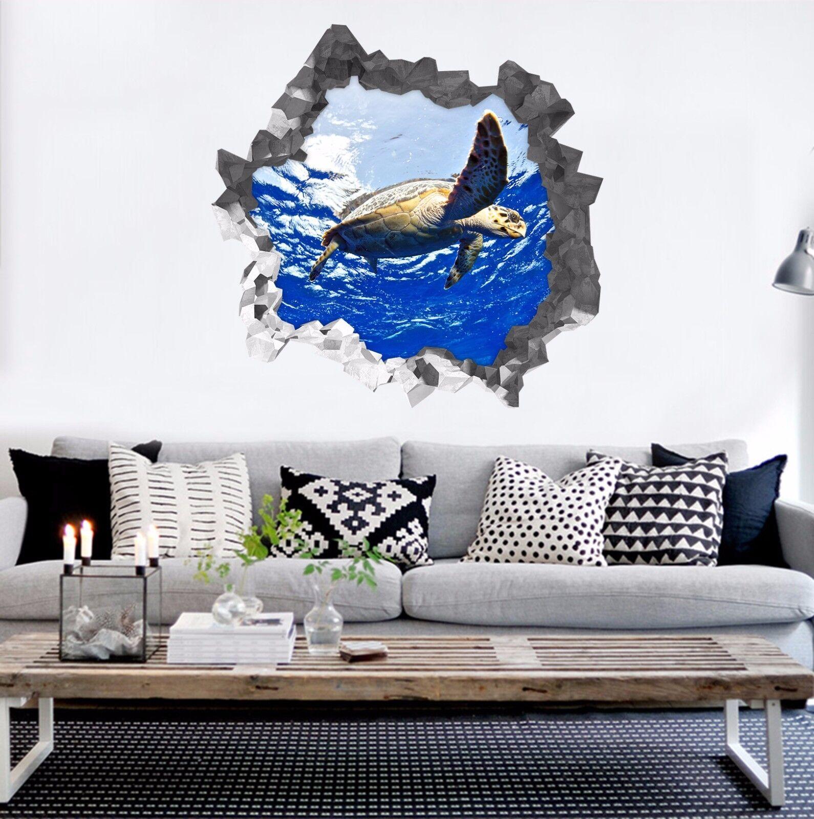 3D Meer Tier 7744  Mauer Murals Mauer Aufklebe Decal Durchbruch AJ WALLPAPER DE