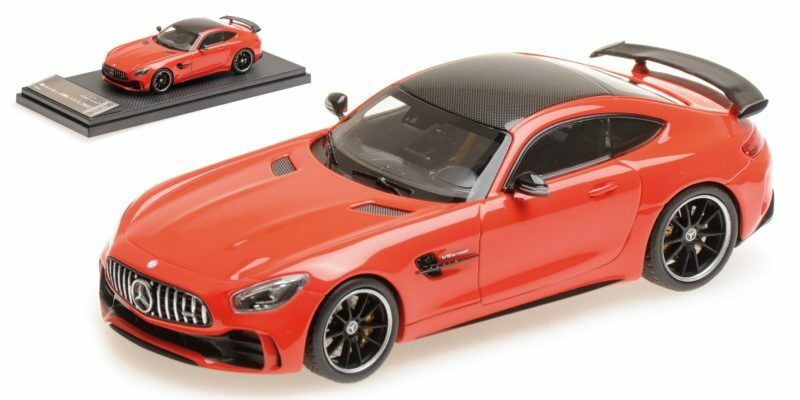 Mercedes - amg gt - r roten 2017 1 43 modell fast real