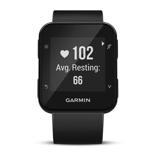 Uhr gps mit Cardio 35 das Handgelenk GARMIN forerunner 35 Cardio schwarz be0dfb