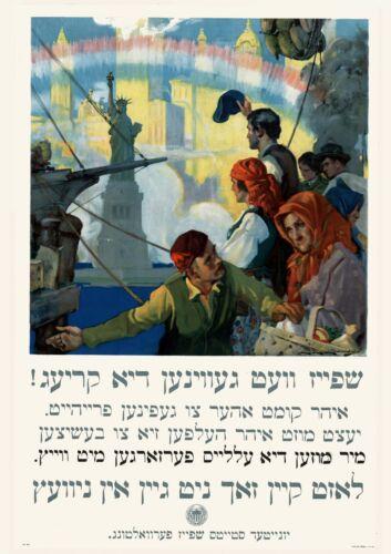 Art print POSTER Canvas 1917 Food will win the war