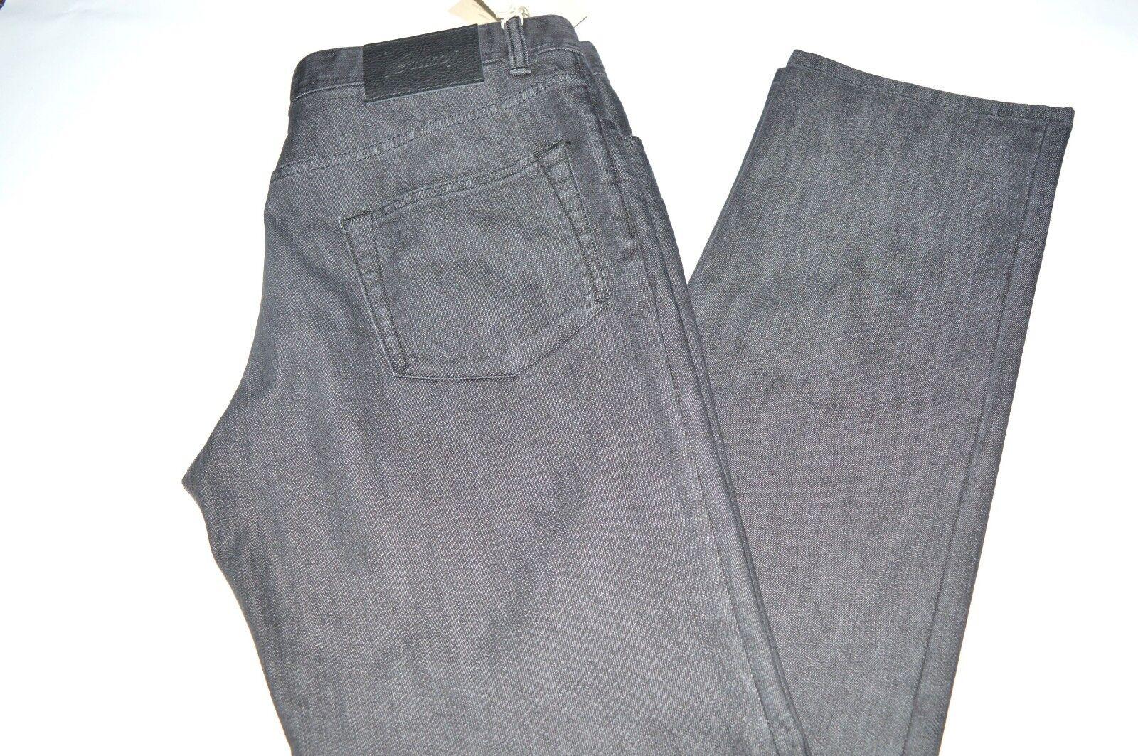 NEW BRIONI Jeans -Livigno 1000 170- 80% Cotton 20% Elastane Size 37 Us 53  Eu