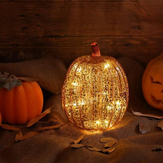 Mercury Gl Lighted Pumpkin
