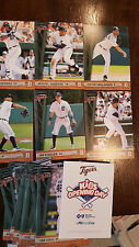 2015 DETROIT TIGERS KIDS OPENING DAY CARD SET CABRERA VERLANDER CESPEDES SGA