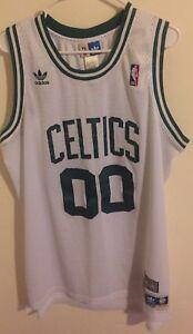 99496b282b2 Robert Parish Boston Celtics NBA Jersey Adidas Hwc Sewn Men L Soul ...
