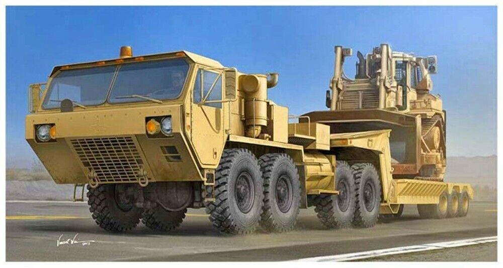 TRUMPETER 1 35 USA HEMTT M983A2 Tractor & M870A1 Semi-Trailer Kit