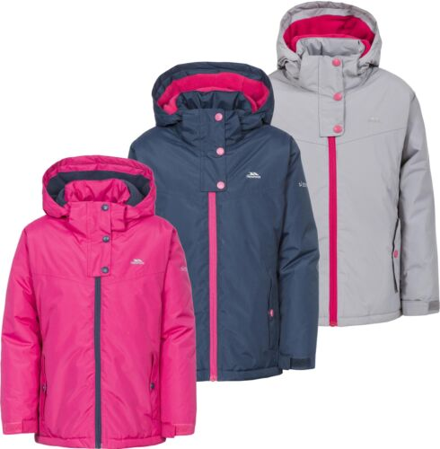 Trespass Maybole Girls Jacket Waterproof Insulated