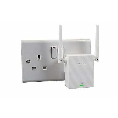 TP-LINK TL-WA855RE 300Mbps Universal Wall Plug Wi-Fi Range Extender Booster UK