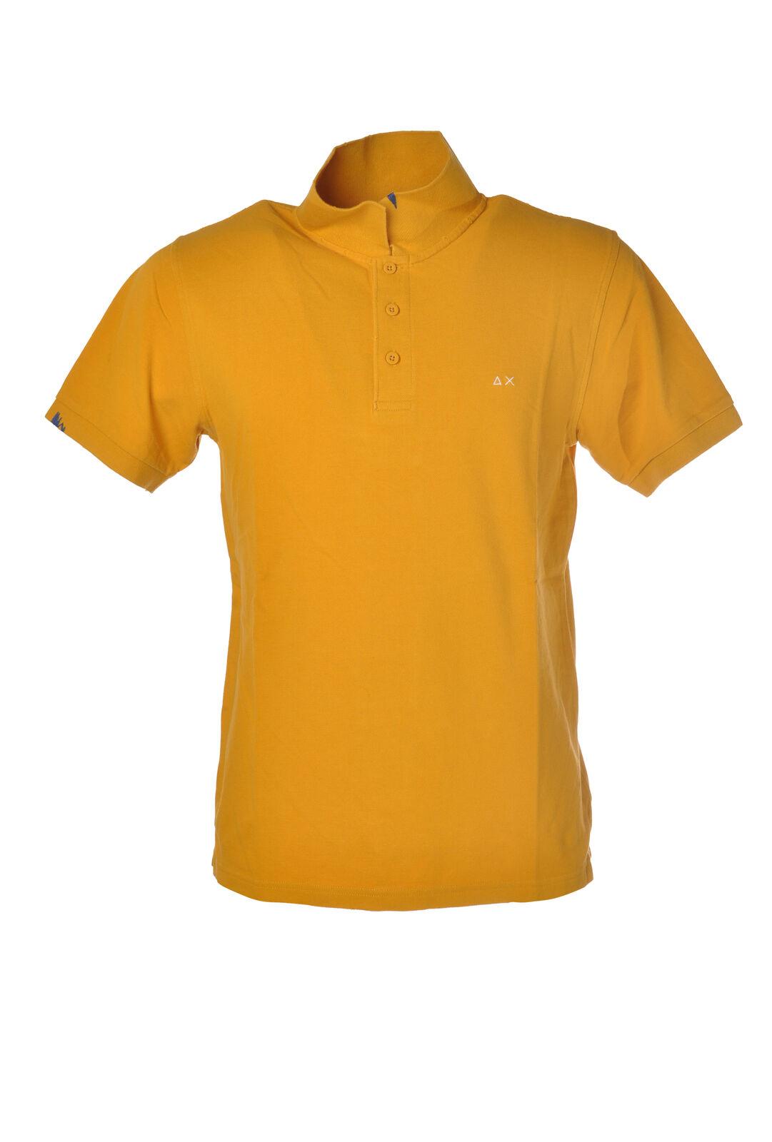 Sun 68 - Topwear Polo - Mann - yellow - 6000113C191353