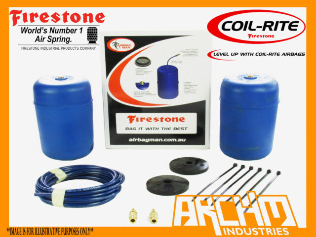 TOYOTA LANDCRUISER 100 SERIES REAR FIRESTONE COILRITE AIR SUSPENSION ASSIST BAGS