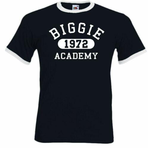 Biggie Smalls T-Shirt Academy 1972 Mens The Notorious BIG Hip Hop Legend Rapper
