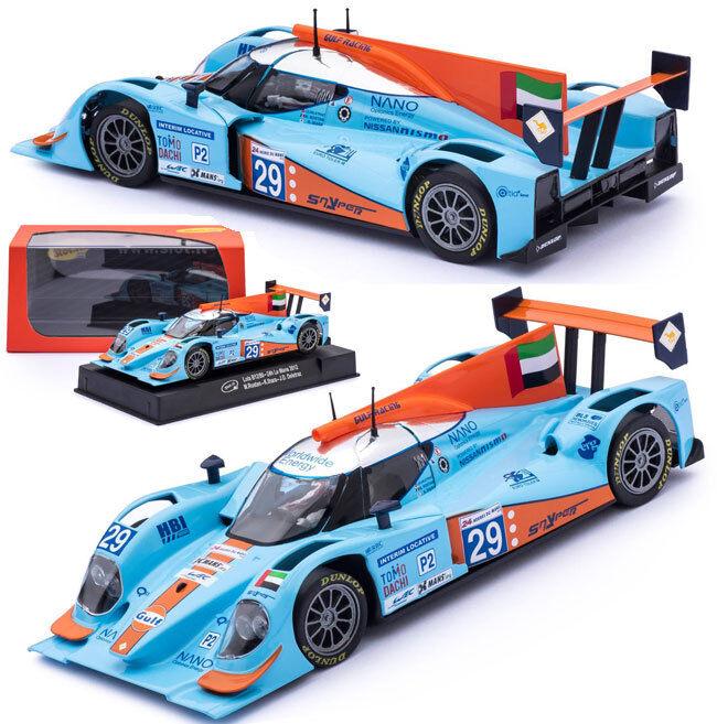 Slot  Lola B12 80 Gulf Le Mans 2012 Schlitz Car 1 32 SICA39B CA39B