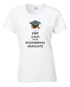 5c227fbc Image is loading Engineering-Graduate-Ladies-T-Shirt-Graduation-Gift-Idea-