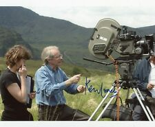 AUTOGRAPHE SUR PHOTO 20 x 25 de Ken LOACH (signed in person)