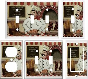 Fat Chef Kitchen Decor Light Switch Cover Plate Or Outlet