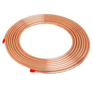 NEW-Microbore-Copper-Plumbing-Pipe-Tube-Gas-Water-Various-Diameter-amp-Lengths