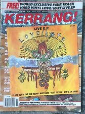KERRANG U.K. Metal Magazine #321 Dec 1990 Love Hate Metallica Pushead Coverdale