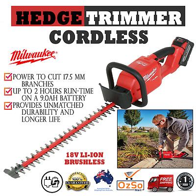 Home & Garden Milwaukee Hedge Trimmer Tool 18 V Li Ion