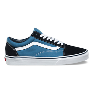 f23e68ea84 Vans Authentic Old Skool Suede Navy Blue Suede Canvas Classic Era ...