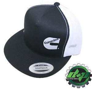 9f483d90cb5 Dodge Cummins trucker mesh summer cummings hat ball cap flat bill ...