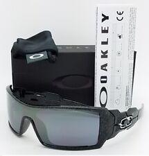 366d82415 item 8 NEW Oakley Oil Rig Sunglasses 24-058 Silver Ghost Text Black Iridium  AUTHENTIC -NEW Oakley Oil Rig Sunglasses 24-058 Silver Ghost Text Black  Iridium ...
