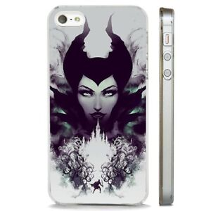 Details About Maleficent Mistress All Evil Disney Clear Phone Case Cover Fits Iphone 5 6 7 8 X