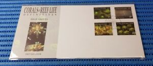 1994 Singapore First Day Cover Corals & Reef Life Definitives High Value Stamps