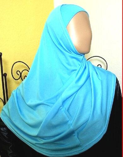 Kopftuch Al Amira Hijab 2-tlg Hellblau ISLAM-ABAYA-NIQAB-KORAN Hijab