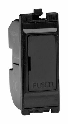 Varilight G13FHB Powergrid Module Noir 13 A Porte-fusible