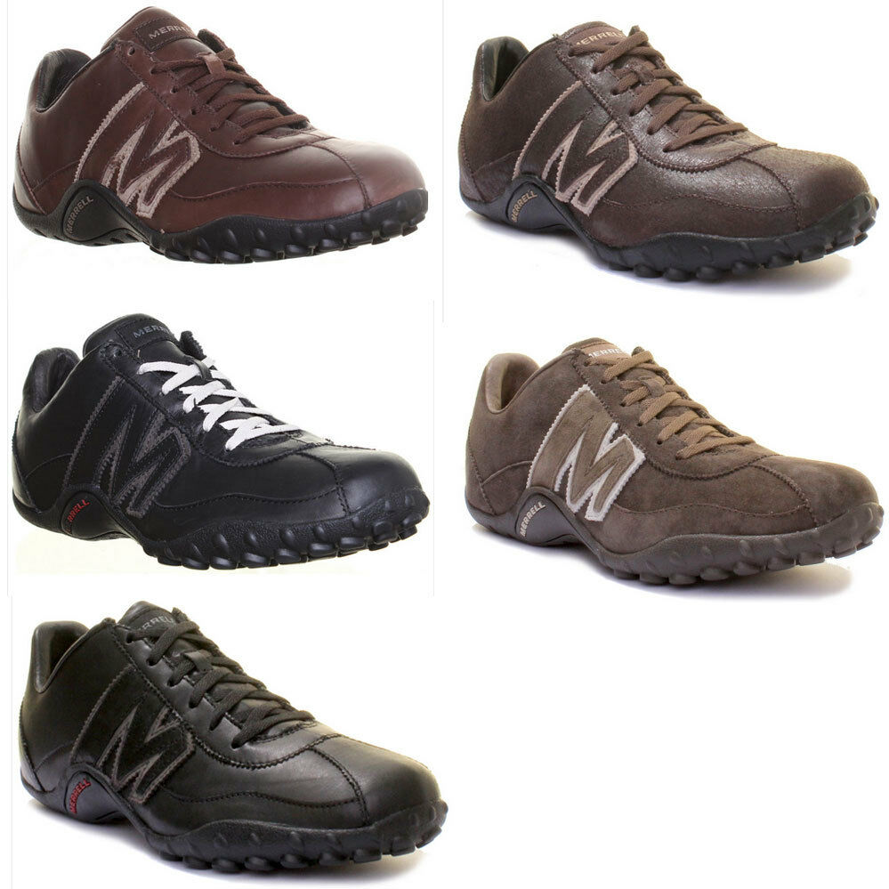 Merrell Sprint Blast Mens Leather Trainers Size
