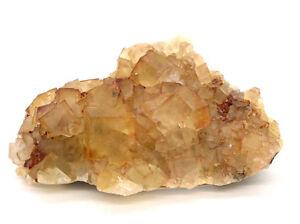 2340-Fluorit-Zwilling-gelb-Spinellzwilling-fluorite-twin-Hameda-Marokko-morocco
