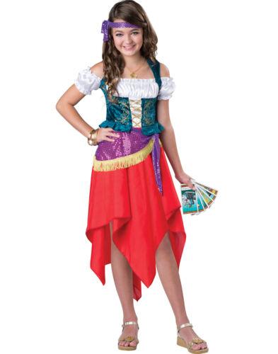 Mystical Gypsy Fortune Teller Renaissance Esmeralda Girls Halloween Costume
