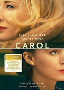 Carol (DVD, 2016) NEW