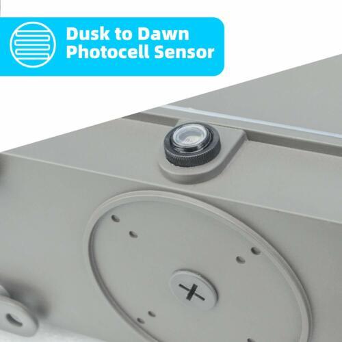 LED Wall Pack 150Watt,ETL List,5500K with Dusk-to-Dawn Photocell,18000LM IP65