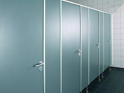 WC-Trennwand WC-Kabine WC-Trennwandanlage Sanitärtrennwand für WC´s   eBay