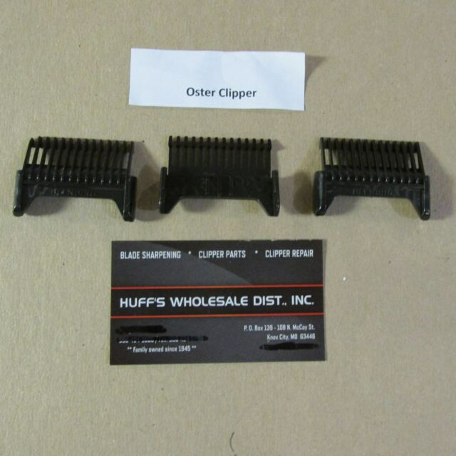 New/> Oster Blending Clip On Plastic Comb/>  You get 3 blending combs />/>High Rib