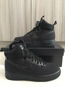 competitive price a8090 378cb Image is loading Nike-Air-Force-1-High-07-Canvas-Size-