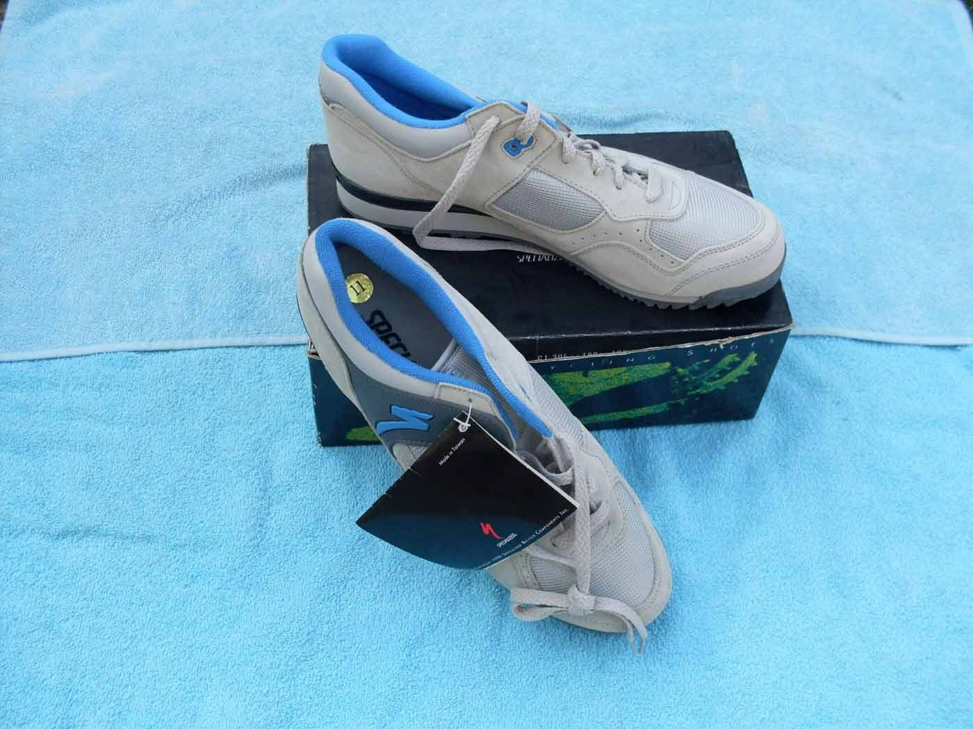 New Cycling Schuhes Specialized Größe US 11 wild dog Grau Blau