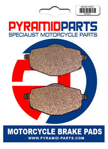 SEMI METAL FRONT OR REAR BRAKE PADS FOR YAMAHA DT 125 R 1988-2003