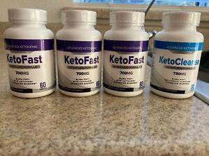 3-bottles-KetoFast-Weight-Loss-Formula-700MG-one-bottle-Keto-Cleanse-730MG