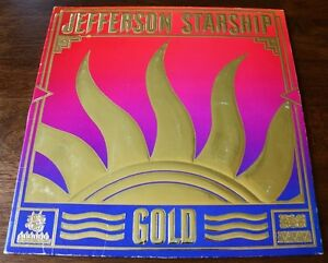 Jefferson-Starship-034-Gold-034-Vinyl-12-034-LP-Album-1979-GRUNT-Records-Vintage-Old-Vtg