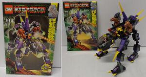 LEGO-lego-Lego-Exo-Force-2008-Game-Gioco-Completo-Set-8115-Robot-Dark-Panther