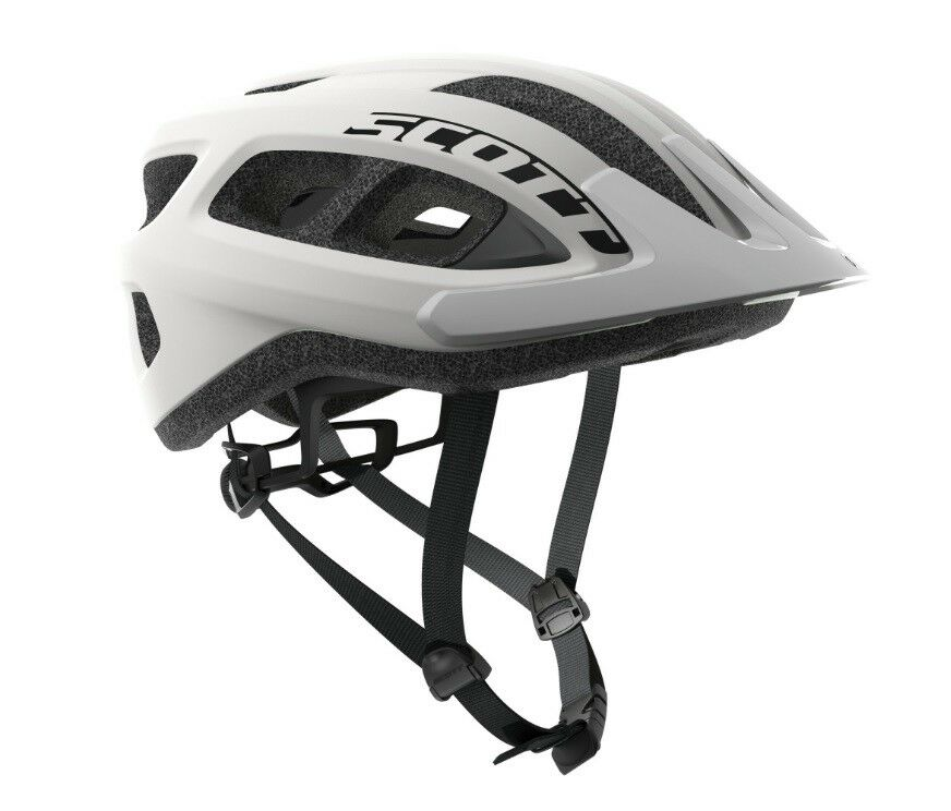 Bike HELMET SCOTT Model SUPRA Colour White Polished HELMET GLOSSY