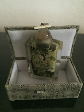 Small Chinese Snuff Glass Bottle with box